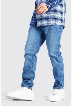 Mid blue Slim Rigid Jean