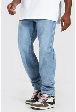 Light blue Relaxed Fit Rigid Jean