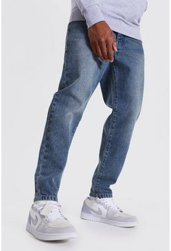 Vintage blue Tapered Fit Rigid Jean