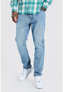 Light blue Slim Rigid Jean