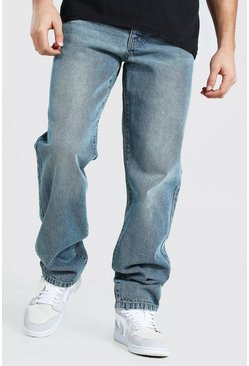Vintage blue Relaxed Fit Rigid Jean