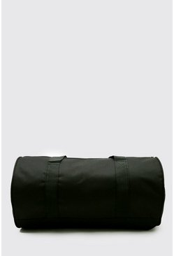 Black Barrel Holdall