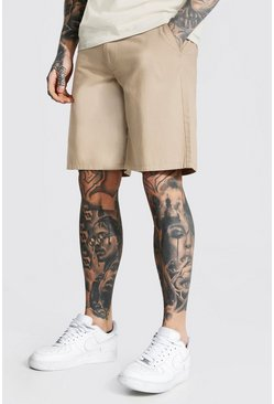 Stone Relaxed Fit Chino Short