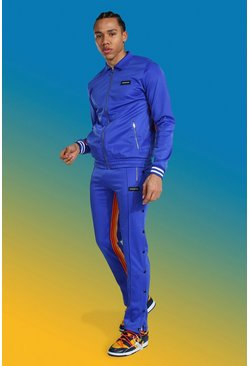 Blue Tall Man Trico Harrington Jacket Tracksuit
