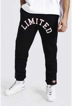 Jogging droit Limited Edition, Black