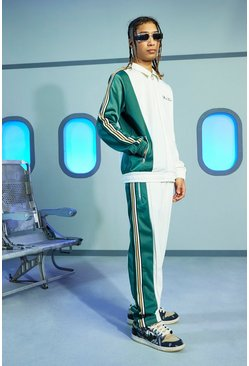 Ecru Official Oversized Tricot Tracksuit