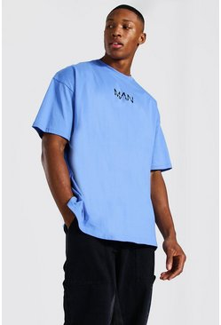 Cornflower blue Oversized Original Man T-shirt