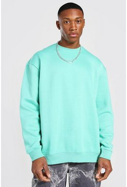 Jade Oversized Crew Neck Sweatshirt