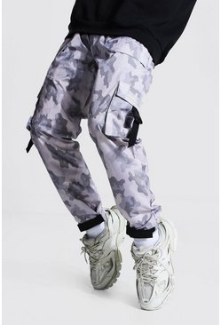 Camo Multi Pocket Cargo Trousers