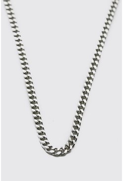 Silver Thin Chain Necklace