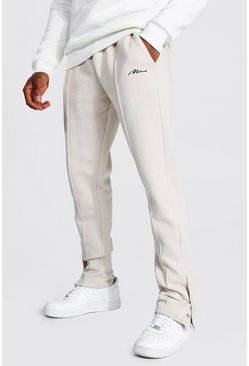 Sand Original Man Slim Pintuck Popper Joggers