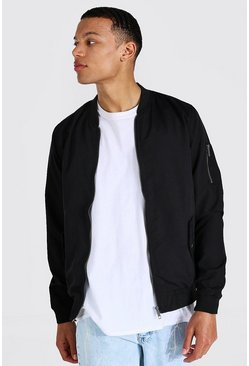 Tall - Bomber MA1, Black