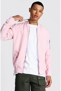 Pink Tall Ma1 Bomber Jacket