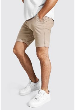 Stone Super Skinny Chino Short