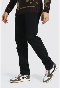 Washed black Tall Straight Leg Jean