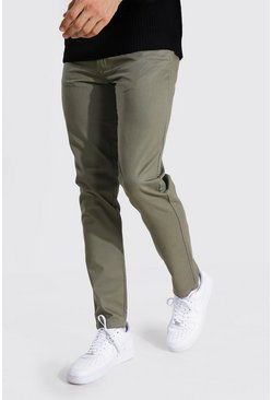 Khaki Tall Slim Fit Chino Trouser