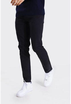 Tall - Pantalon slim chino, Black