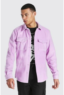Lilac Tall Man Official Fleece Overshirt