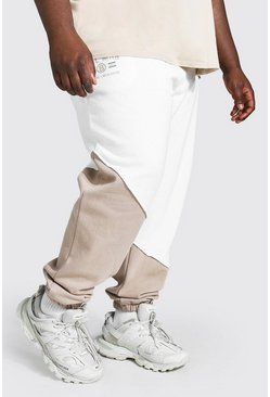 Camel Plus Size Man Official Slim Spliced Jogger