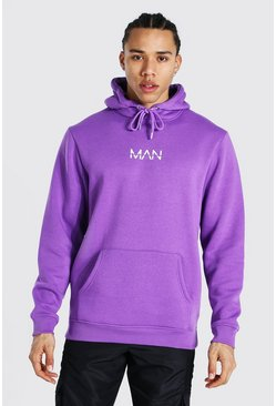 Purple Tall Man Original Hoodie