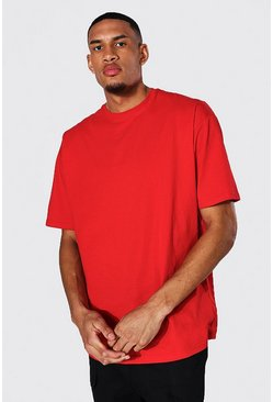 Red Tall Oversized T-shirt