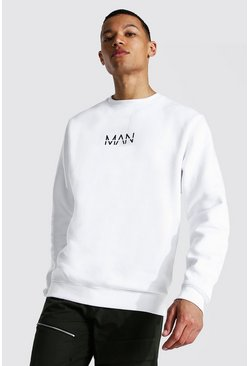 White Tall Man Original Sweater