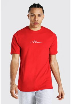 Tall Man Signature T-shirt, Red