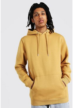 Sand Tall Basic Regular Fit Hoodie