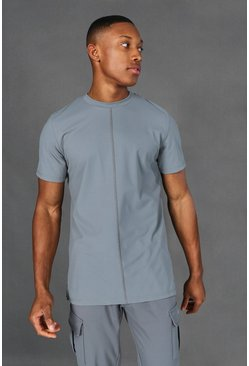 Sage Man Active Yoga Side Split T-shirt