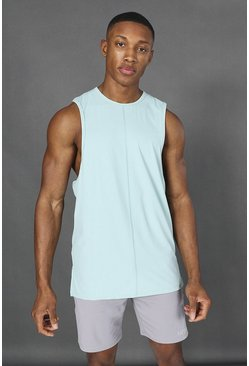 Mint Man Active Yoga Side Split Tank Top