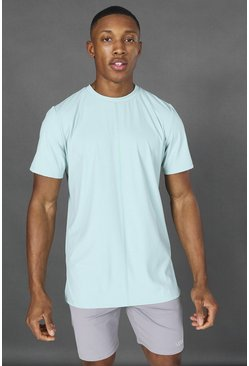 Mint Man Active Yoga Side Split T-shirt