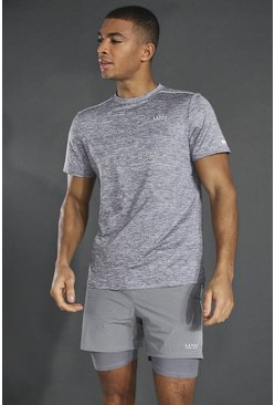 Grey Man Active Lightweight Marl T-shirt
