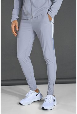 Grey Man Active Textured Colour Block Pant