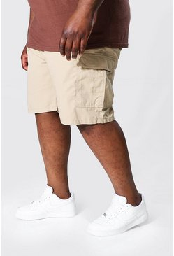 Stone Plus Fixed Waistband Cargo Short
