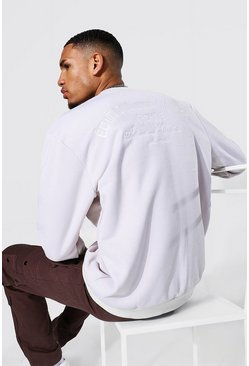 Stone Tall Edition Back Embroidered Sweater