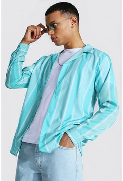 Mint Tall Long Sleeve Striped Shirt