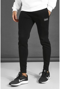 Black Man Active Training Joggers