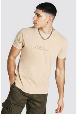 Sand Man Signature Overdyed T-shirt