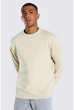 Sand Crew Neck Sweatshirt