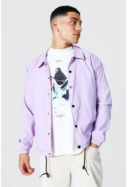 Lilac Nylon Harrington