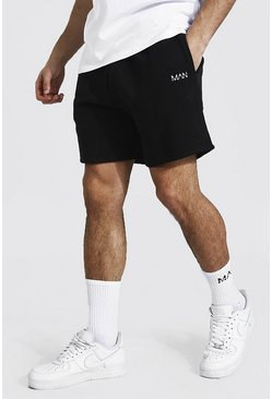Black Original Man Short Length Regular Shorts