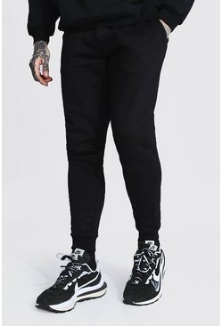 Recycled Skinny Fit Jogger, Black