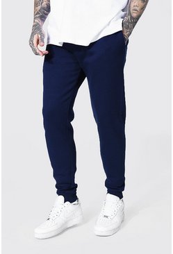Recycled Slim Fit Jogger, Navy