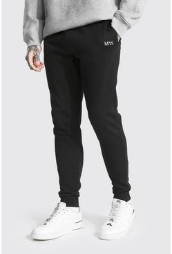 Recycled Original Man Skinny Fit Jogger, Black