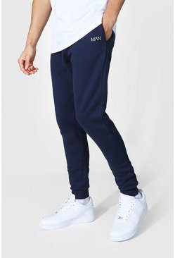 Recycled Original Man Skinny Fit Jogger, Navy