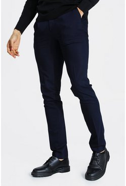 Navy Tall Straight Leg Fit Trouser
