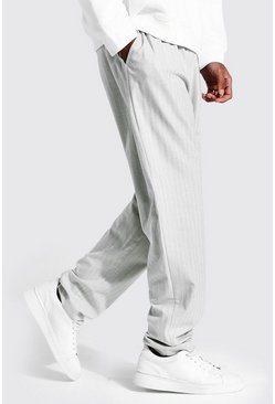 Light grey Tall Straight Leg Smart Cropped Jogger