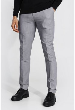 Grey Tall Skinny Fit Trouser