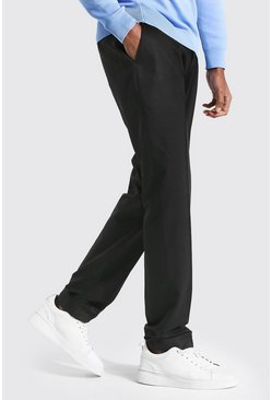 Black Tall Straight Leg Trouser