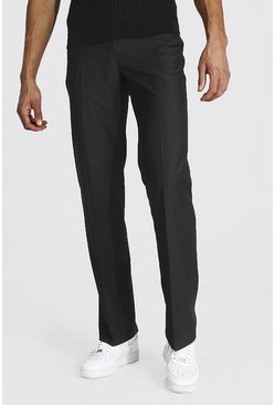 Tall Straight Leg Trouser, Black